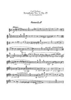 Sinfonie Nr.4 'Das Unauslöschliche', FS 76 Op.29: Hornstimmen I-IV by Carl Nielsen