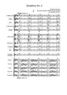 Sinfonie Nr.2 in h-Moll: Vollpartitur by Alexander Porfiryevich Borodin