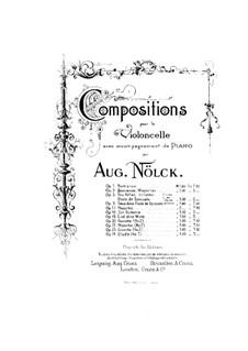 Lied ohne Worte, Op.19: Partitur by August Nölck