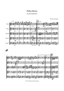 Die Fledermaus: Polka Mazur by Johann Strauss (Sohn)