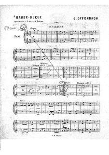 Blaubart: Hörnerstimme by Jacques Offenbach