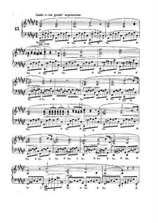 Nr.13 in Fis-Dur: Für Klavier by Frédéric Chopin