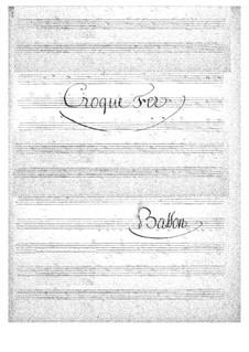 Croquefer: Fagottstimme by Jacques Offenbach