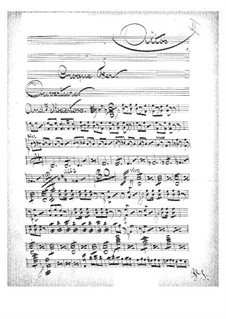 Croquefer: Violastimme by Jacques Offenbach