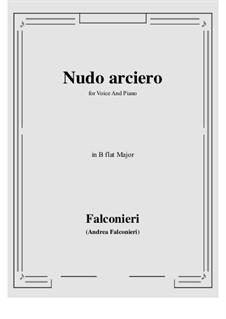 Nudo arciero: B flat Major by Andrea Falconieri