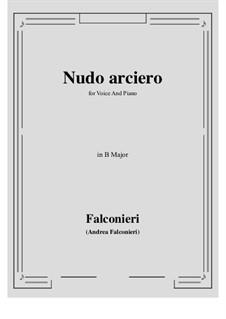 Nudo arciero: B Major by Andrea Falconieri