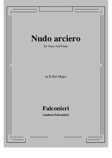 Nudo arciero: D flat Major by Andrea Falconieri