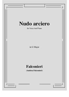 Nudo arciero: G Major by Andrea Falconieri