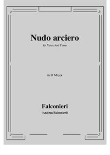 Nudo arciero: D Major by Andrea Falconieri