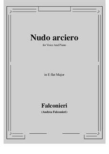 Nudo arciero: E flat Major by Andrea Falconieri