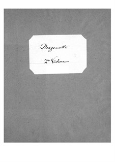 Dragonette: Violinstimme II by Jacques Offenbach