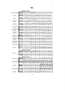 Konzert für Klavier und Orchester in Es-Dur, Op.82: Teil III by Paul Pabst