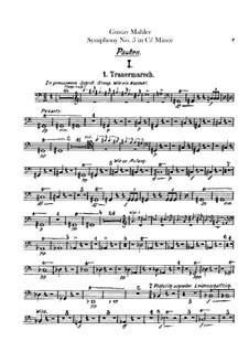 Sinfonie Nr.5 in cis-Moll: Schlagzeugstimmen by Gustav Mahler
