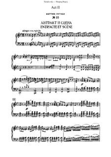 Fragmente: Act 2, for piano by Pjotr Tschaikowski