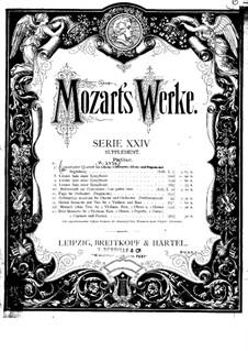 Sinfonia Concertante für Orchester in Es-Dur, K.297b: Teil I by Wolfgang Amadeus Mozart