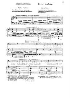 Fragmente: Akt I. Version für Stimmen und Klavier by Modest Mussorgski