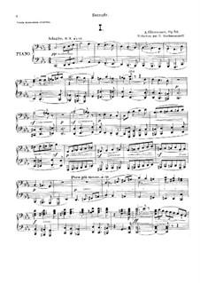 Sinfonie Nr.6 in c-Moll, Op.58: Bearbeitung für Klavier, vierhändig by Alexander Glazunov