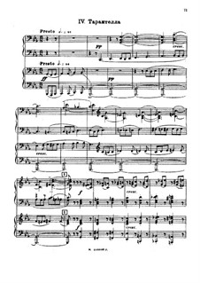 Suite Nr.2, Op.17: Teil IV by Sergei Rachmaninoff