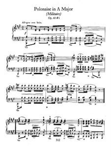 Polonäsen, Op.40: Vollsammlung by Frédéric Chopin