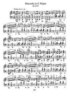 Mazurkas, Op. posth.68: Vollsammlung by Frédéric Chopin