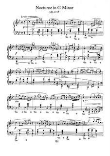 Nocturnen, Op.37: Vollsammlung by Frédéric Chopin
