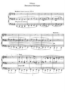 Berceuse héroïque, L.132: Für Klavier by Claude Debussy