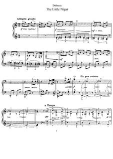 Die kleine Neger, L.114: Für Klavier by Claude Debussy