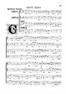 Assumpta est Maria: Christe eleison by Giovanni da Palestrina