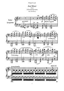 Nr.12 Am Meer: Für Klavier by Franz Schubert