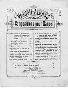 Konzert für Harfe und Orchester, Op.98: Teile I-II. Version für Harfe und Klavier – Harfestimme by Elias Parish-Alvars