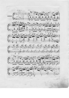 Konzert für Harfe und Orchester, Op.98: Teil III. Version für Harfe und Klavier – Harfestimme by Elias Parish-Alvars