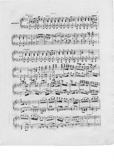 Konzert für Harfe und Orchester, Op.98: Teil III. Version für Harfe und Klavier – Klavierstimme by Elias Parish-Alvars