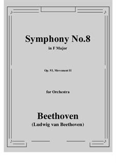 Teil II: Vollpartitur by Ludwig van Beethoven