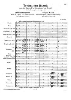 Les Troyens, H.133 Op.29: Trojanischer Marsch by Hector Berlioz