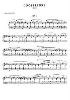 No.1-3: Für Klavier by Erik Satie