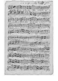 Dedit abyssus vocem suam für Stimmen und Basso Continuo: Dedit abyssus vocem suam für Stimmen und Basso Continuo by Marco Gioseppe Peranda