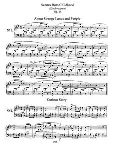 Vollständiger Satz: Für Klavier by Robert Schumann