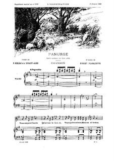 Panurge. Lied 'Dans ces pres fleuris': Panurge. Lied 'Dans ces pres fleuris' by Robert Planquette