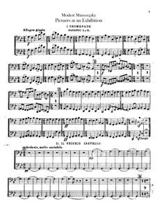 Vollständiger Zyklus: Für Orchester – Fagottstimme by Modest Mussorgski