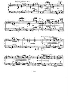À Argenteau, Op.40: No.3 Capriccioso by César Cui