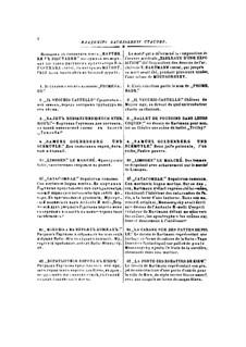 Vollständiger Zyklus: Für Orchester – Partitur by Modest Mussorgski