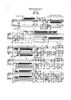 Vollständiger Satz: Für Klavier by Johann Sebastian Bach