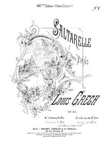 Saltarelle, Op.49: Saltarelle by Louis Gregh