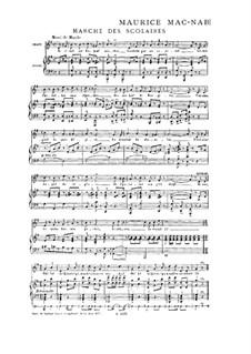 Heft I: No.8 Marche des scolaires by Maurice Mac-Nab