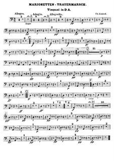 Trauermarsch einer Marionette: Paukenstimme by Charles Gounod