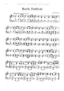 Pontifikalmarsch: Pontifikalmarsch by Charles Gounod