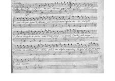 Kantate 'Filli, tu sol lasciasti' für Stimme und Basso Continuo: Kantate 'Filli, tu sol lasciasti' für Stimme und Basso Continuo by Benedetto Marcello