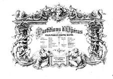 Ouvertüre: Für zwei Klaviere, vierhändig by Wolfgang Amadeus Mozart