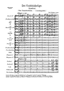 Sinfonie Nr.4 'Das Unauslöschliche', FS 76 Op.29: Vollpartitur by Carl Nielsen