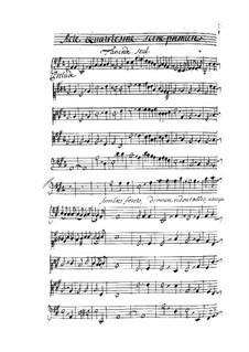 Tancrède: Akt IV by André Campra
